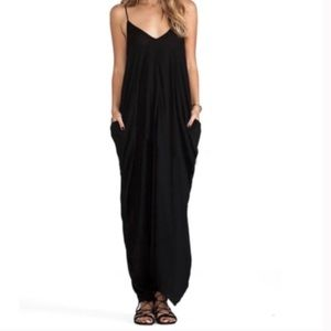 Elan Black Maxi Dress